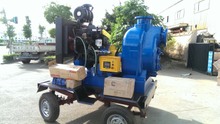 6 Inch Diesel Driven Trash Pump with Cummins Or Deutz Engine
